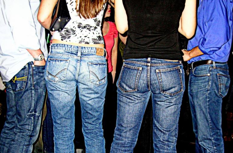 The evolution of jeans