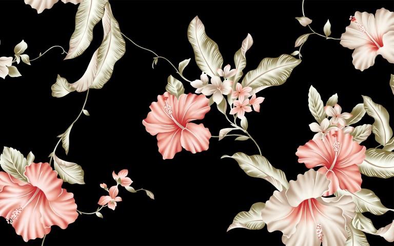 art retro other wallpaper flower pattern digital backrounds